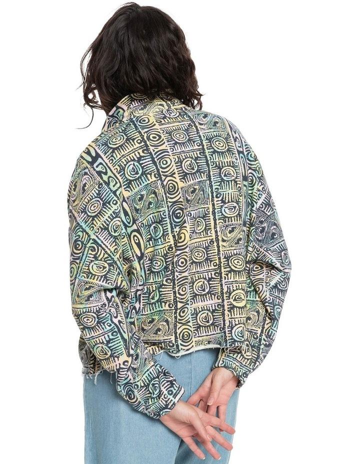 Womens Flying Over Organic Half Zip Sweatshirt image 3