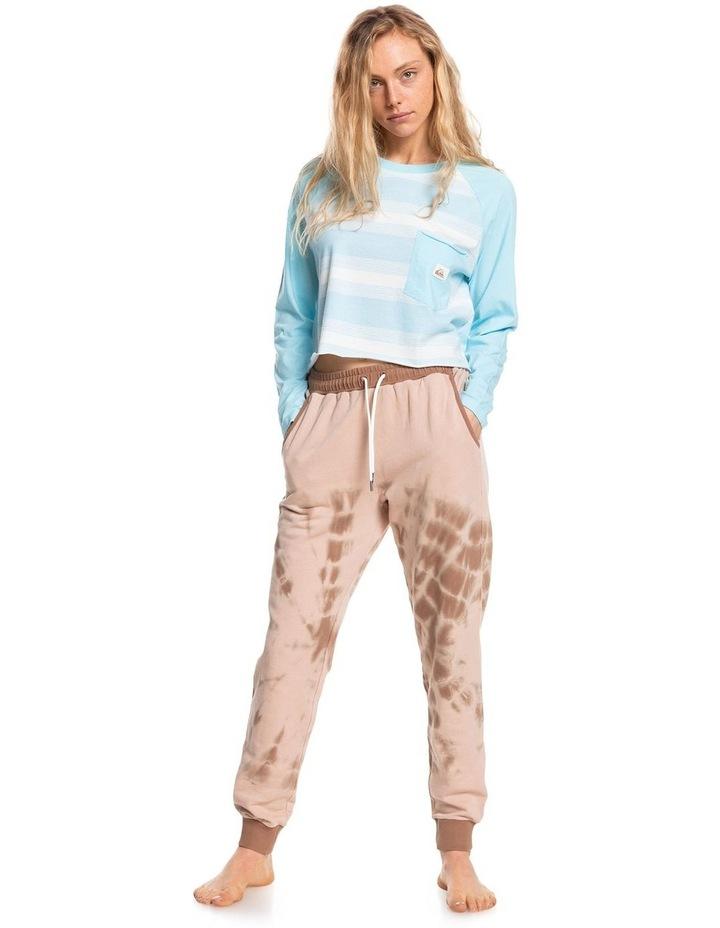 Womens Iconic Horizon Cropped Long Sleeve T-Shirt image 5