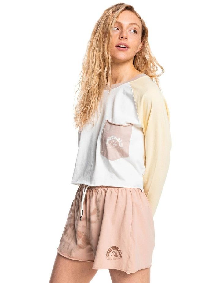 Womens Iconic Horizon Cropped Long Sleeve T-Shirt image 2