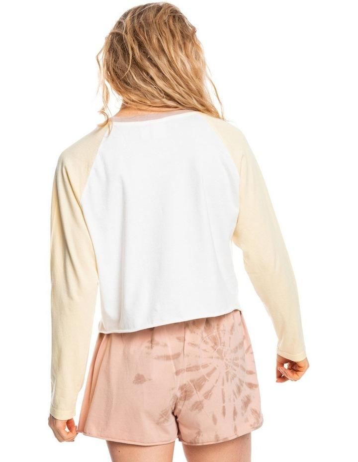 Womens Iconic Horizon Cropped Long Sleeve T-Shirt image 3