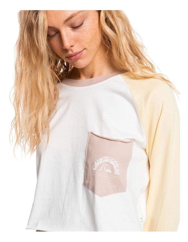 Womens Iconic Horizon Cropped Long Sleeve T-Shirt image 4