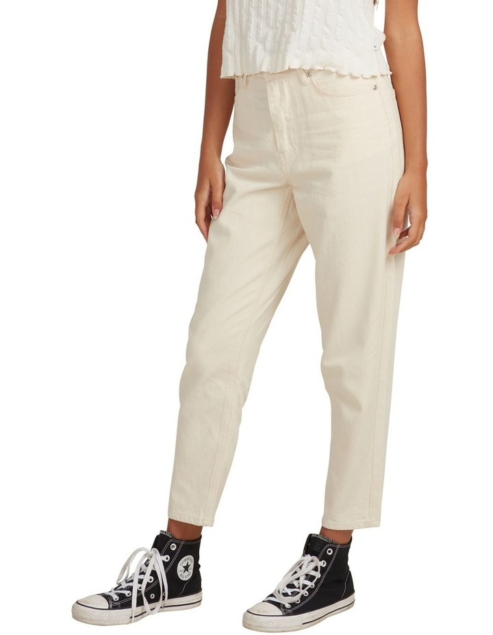 Womens Infinity Time Organic Mom Fit Pant image 2