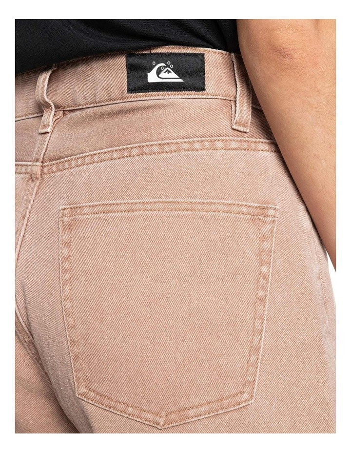 Womens Infinity Time Mom Fit Jeans image 4