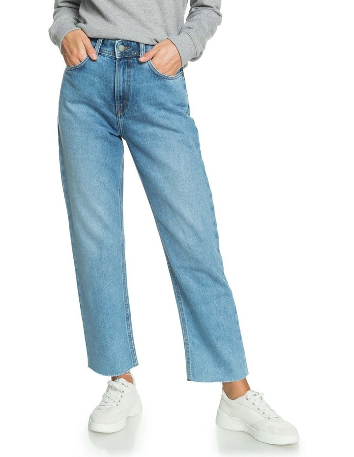 Womens Vertical Rhythm Straight Fit Jeans image 1
