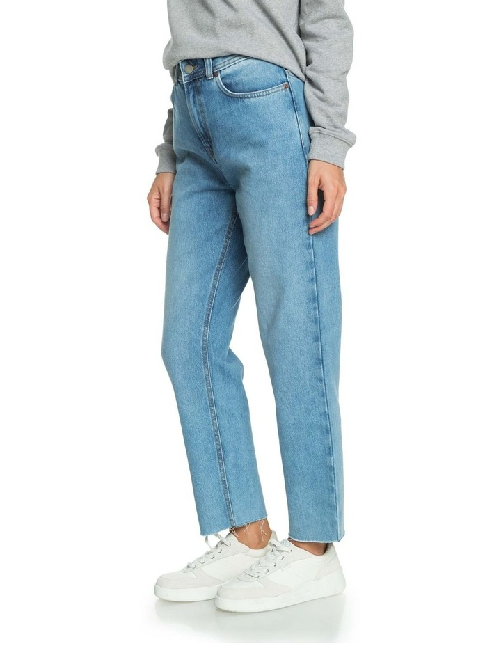 Womens Vertical Rhythm Straight Fit Jeans image 2
