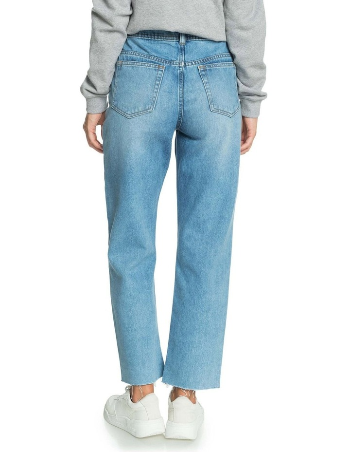 Womens Vertical Rhythm Straight Fit Jeans image 3