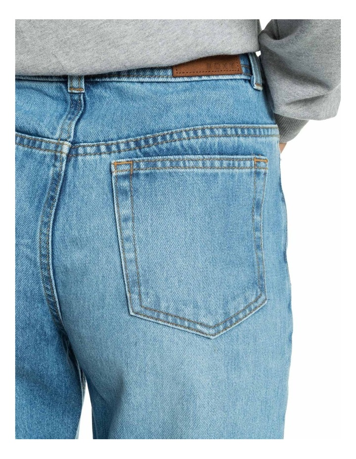 Womens Vertical Rhythm Straight Fit Jeans image 4