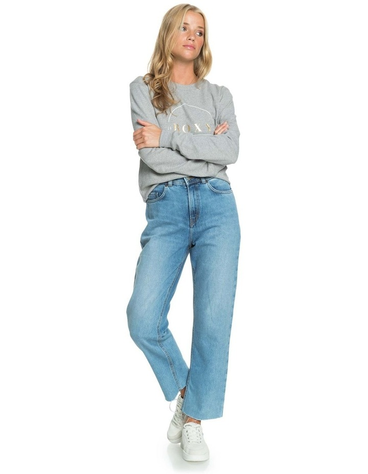 Womens Vertical Rhythm Straight Fit Jeans image 6