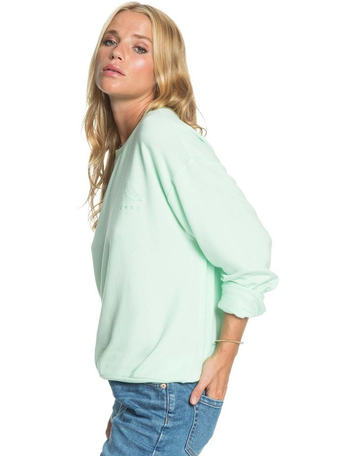Womens Surfing By Moonlight C Super Soft Sweatshirt image 3