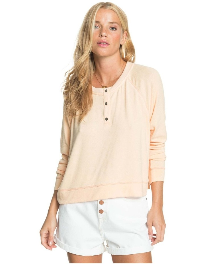 Womens Take It Home Cosy Long Sleeve Top image 1