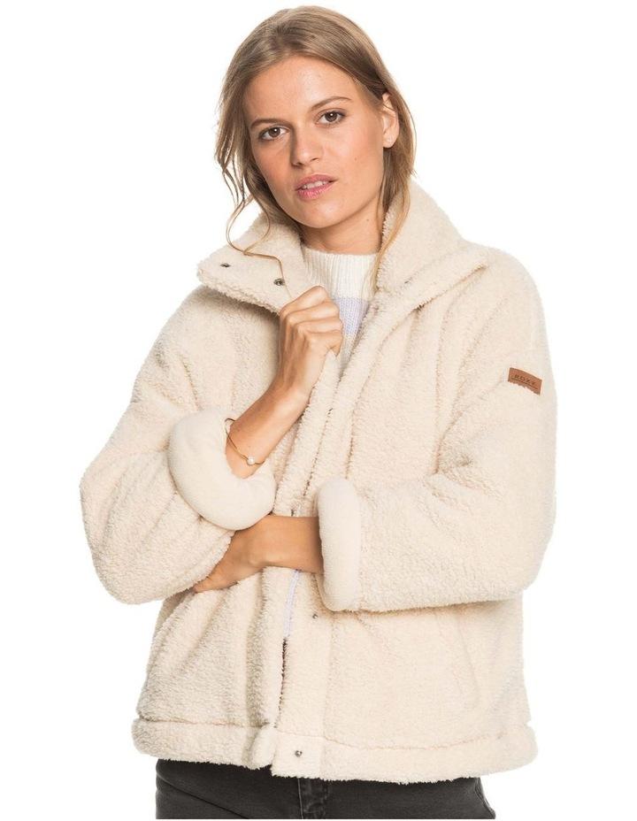 Womens Wild Ocean Sherpa Fleece Jacket image 1