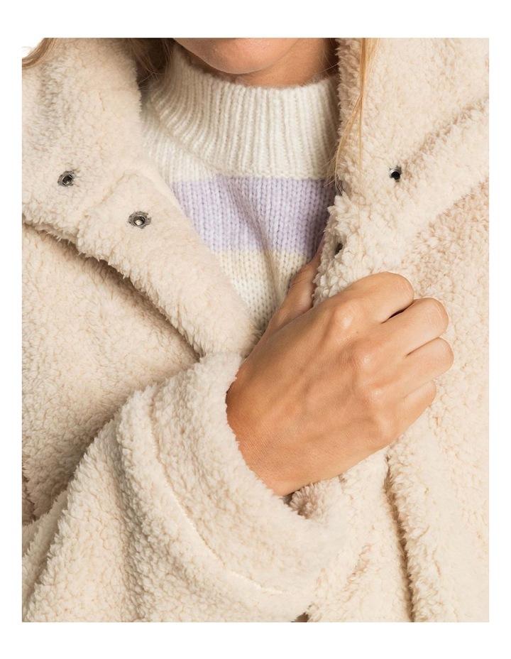 Womens Wild Ocean Sherpa Fleece Jacket image 2