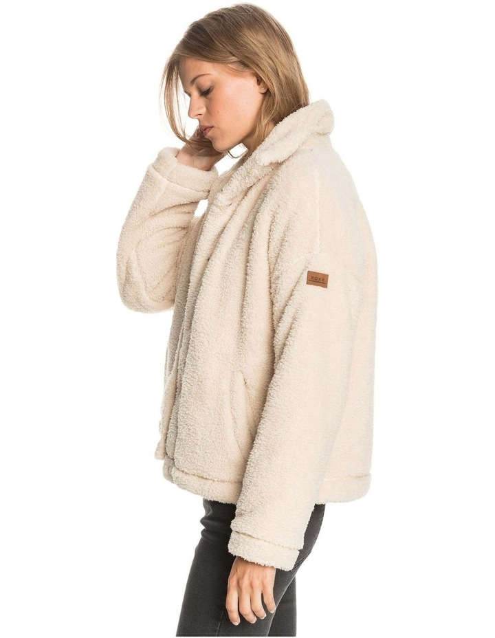 Womens Wild Ocean Sherpa Fleece Jacket image 3