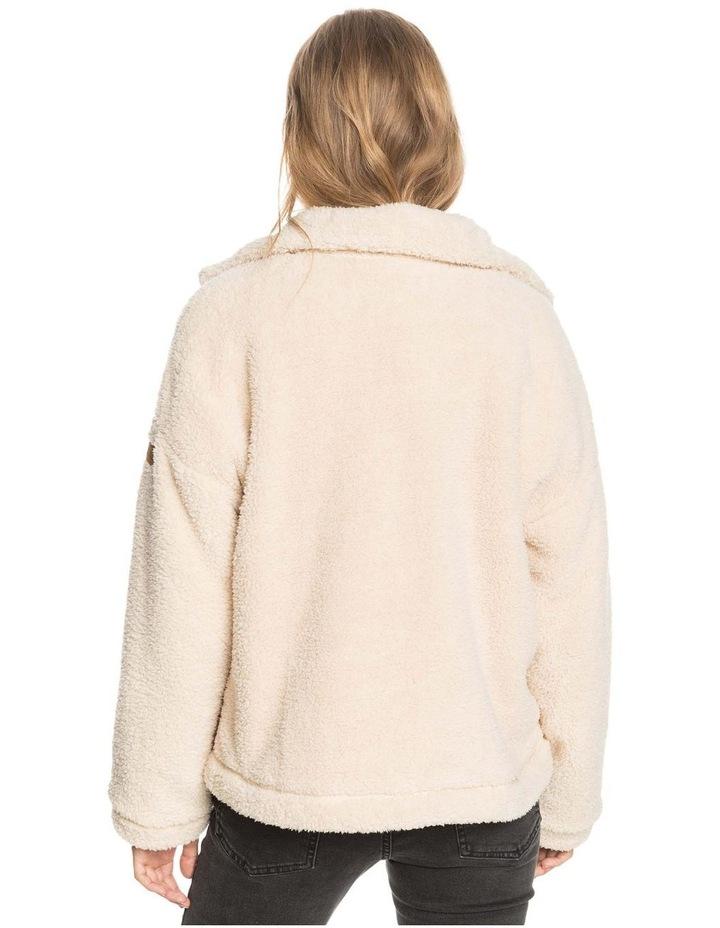 Womens Wild Ocean Sherpa Fleece Jacket image 4
