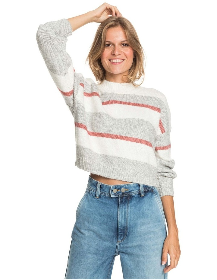 Womens Blurred Memories Cropped Jumper image 1
