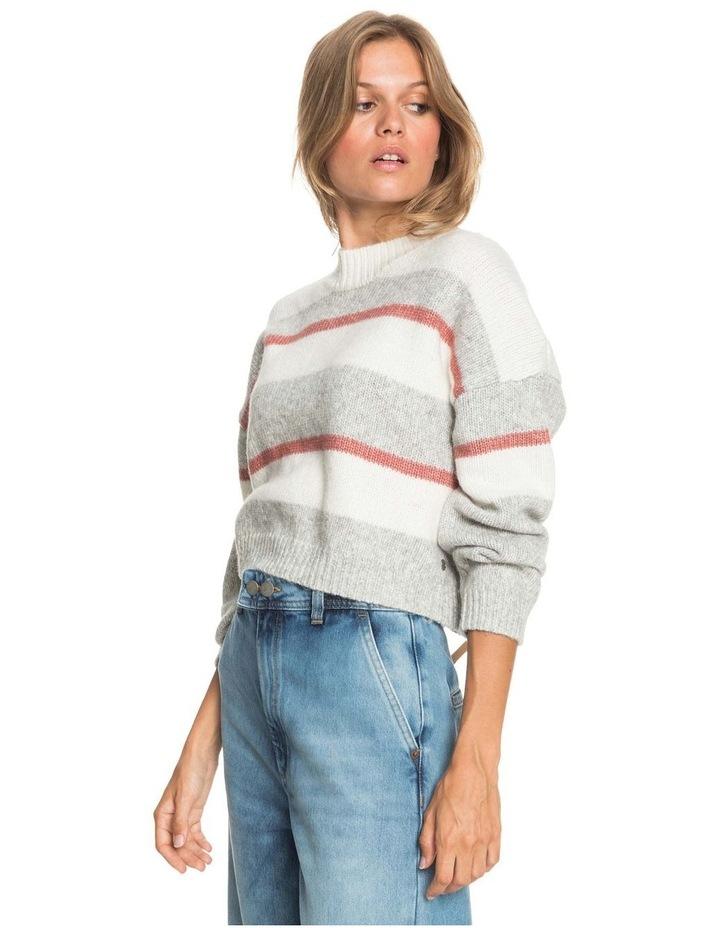 Womens Blurred Memories Cropped Jumper image 2