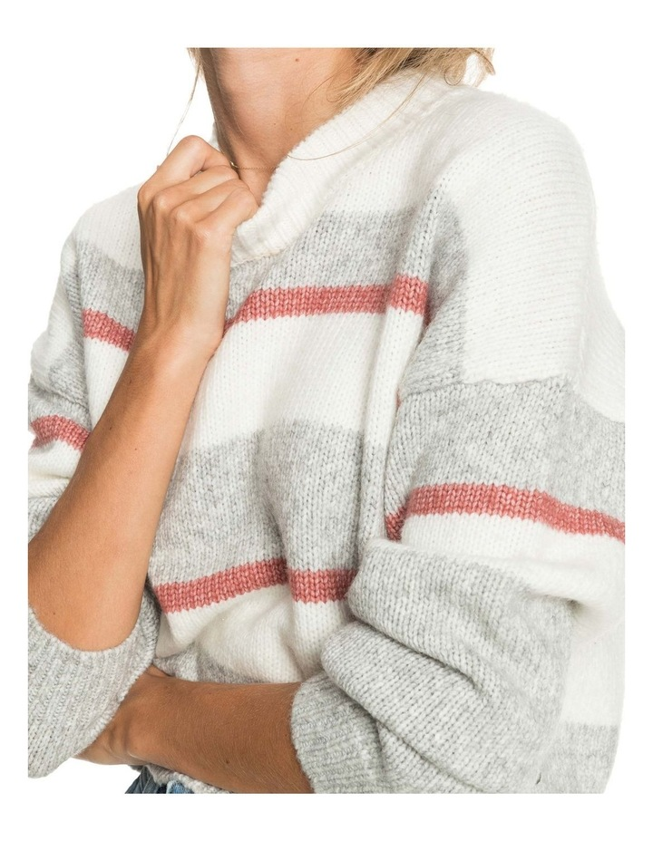 Womens Blurred Memories Cropped Jumper image 3