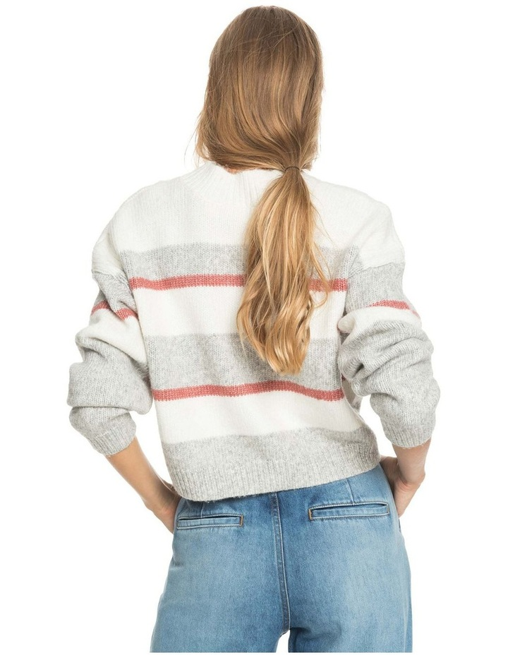 Womens Blurred Memories Cropped Jumper image 4