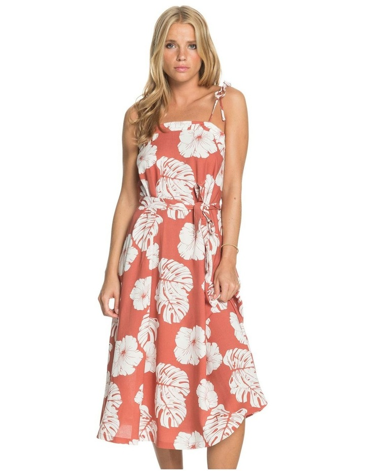 Womens Nowhere To Hide Strappy Midi Dress image 1