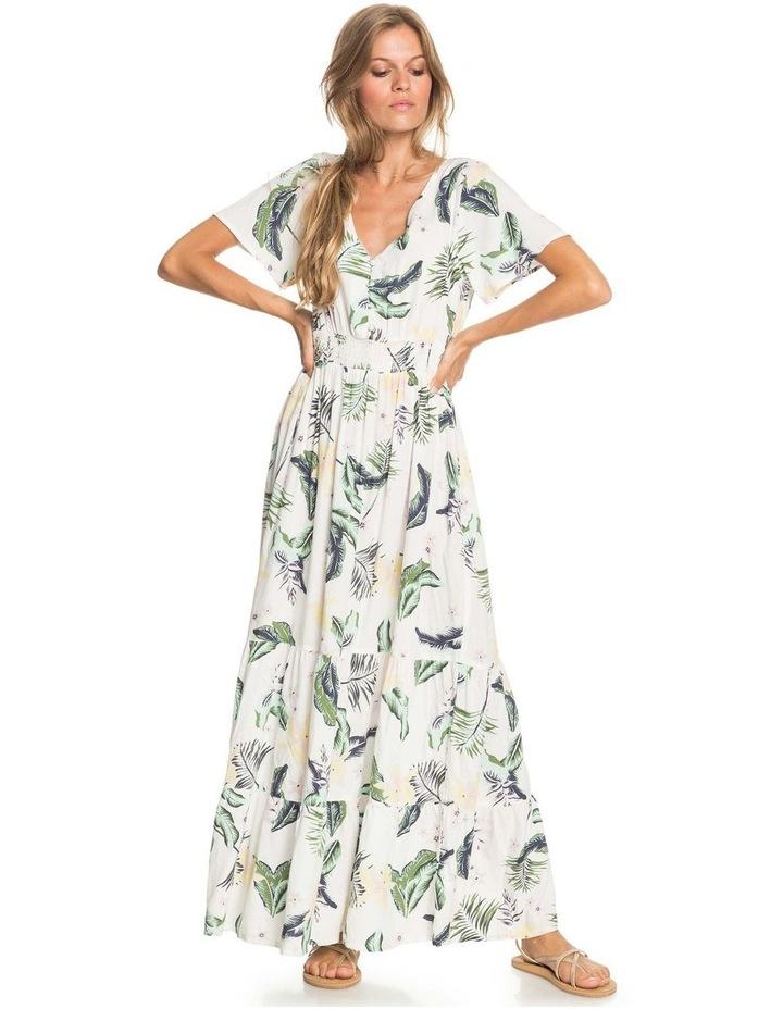 Womens Paradise Song Short Sleeve Mini Dress image 1