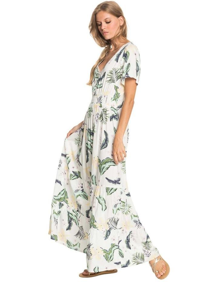 Womens Paradise Song Short Sleeve Mini Dress image 3
