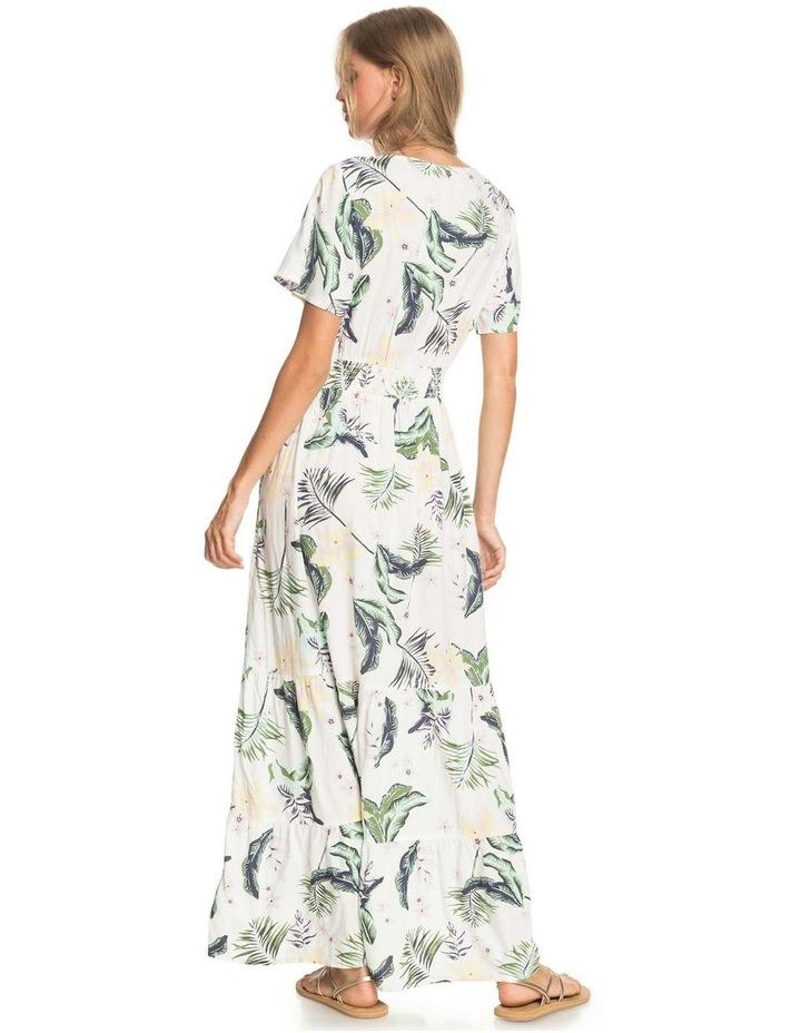 Womens Paradise Song Short Sleeve Mini Dress image 4