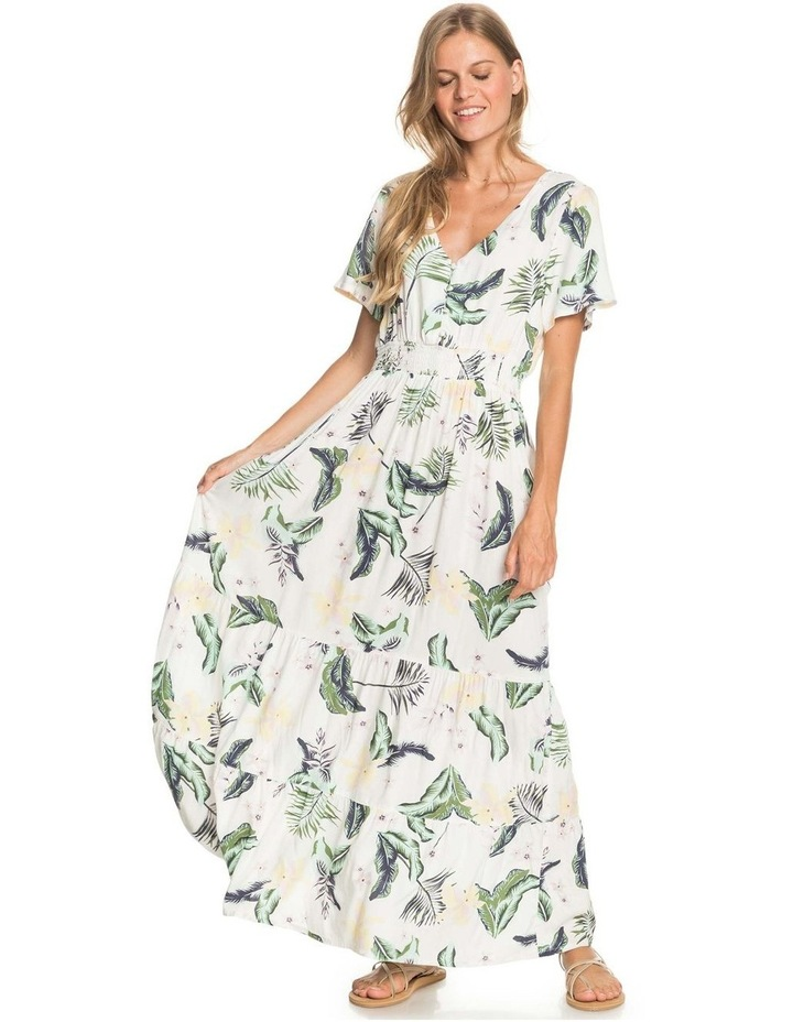 Womens Paradise Song Short Sleeve Mini Dress image 5