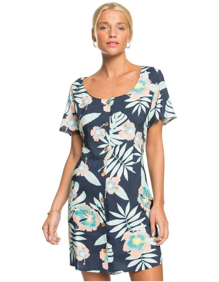 Womens All Eyes On Love Short Sleeve Dress image 1