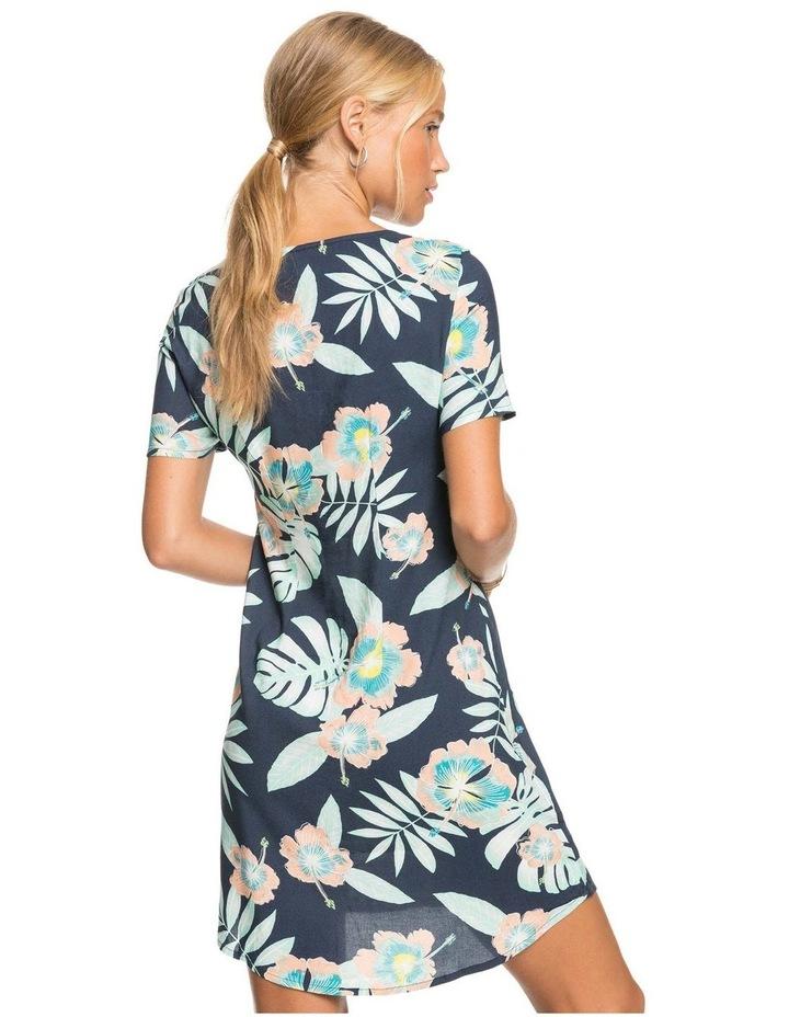 Womens All Eyes On Love Short Sleeve Dress image 2
