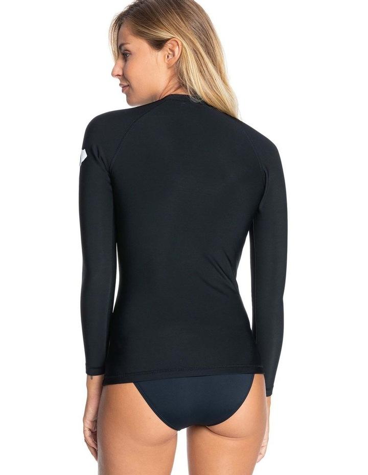 Womens Heater Long Sleeve Upf 50 Rash Vest image 3
