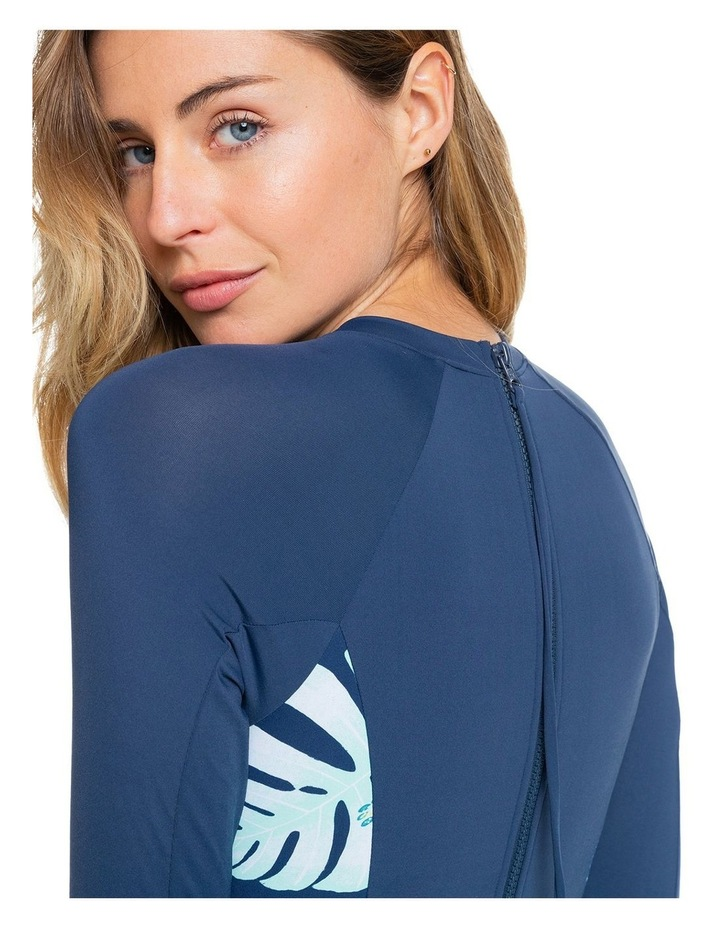 Womens Long Sleeve UPF 50 One Piece Swimsuit image 4