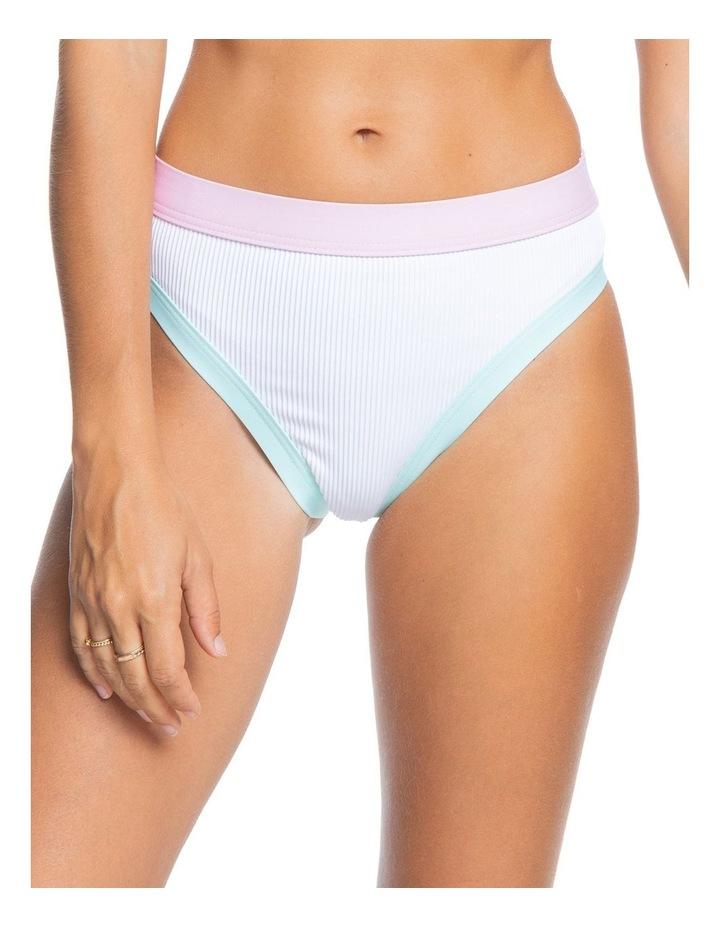 Womens Pastel Surf Separate High Leg Bikini Pant image 1