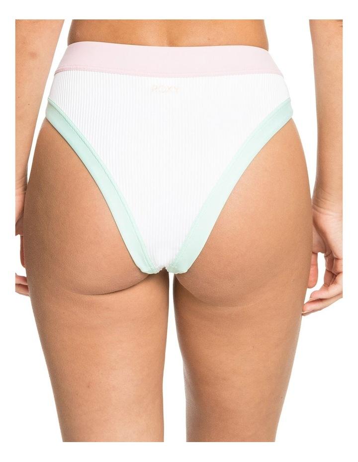 Womens Pastel Surf Separate High Leg Bikini Pant image 4
