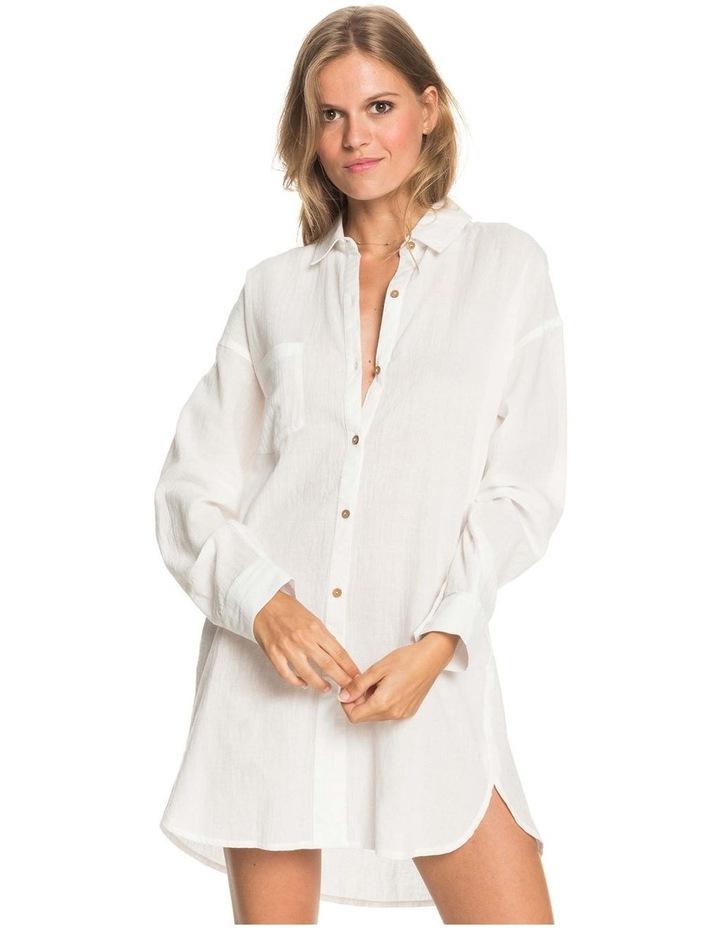 Womens Good Surf Time Beach Shirt Dress image 1