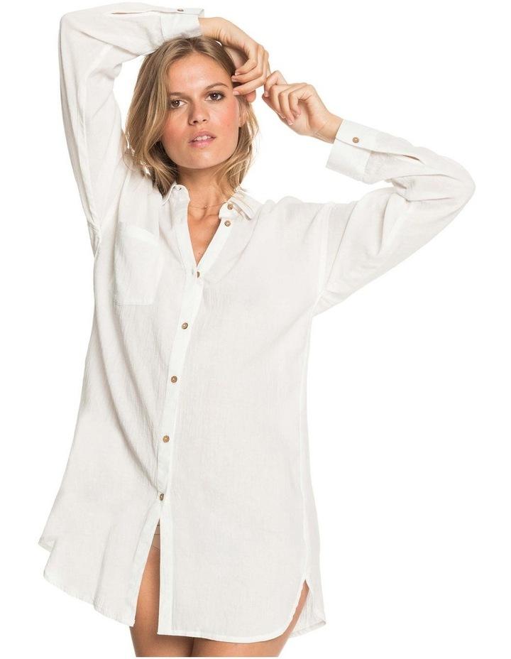 Womens Good Surf Time Beach Shirt Dress image 2