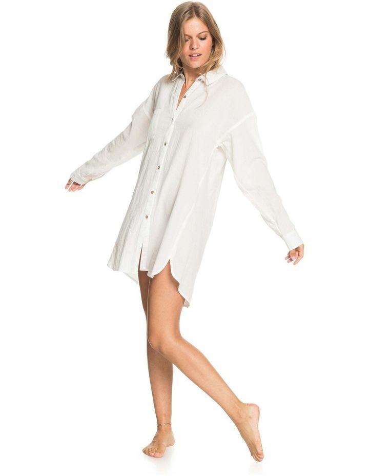 Womens Good Surf Time Beach Shirt Dress image 5