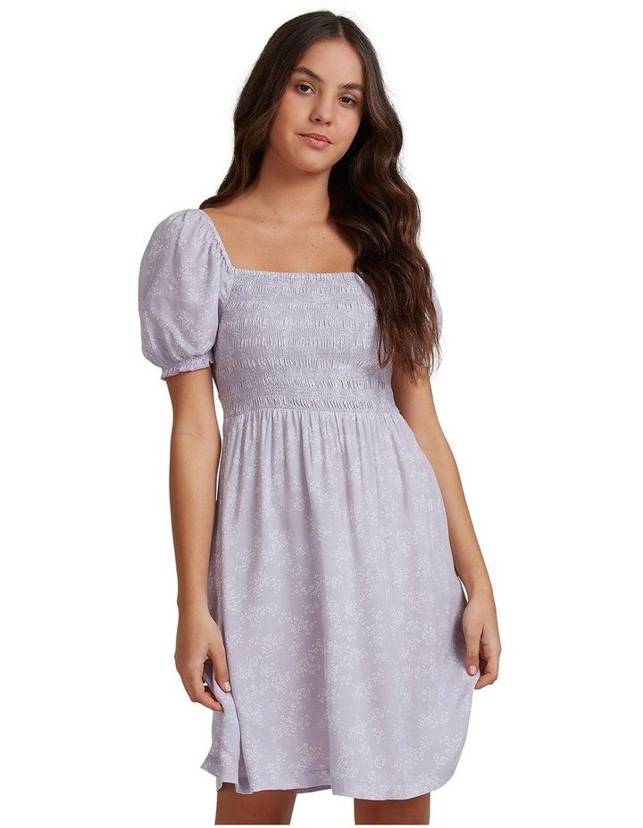 Womens Hello Petal Mini Dress image 1
