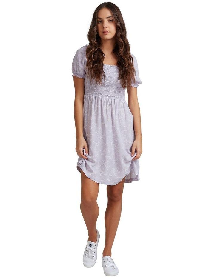 Womens Hello Petal Mini Dress image 4
