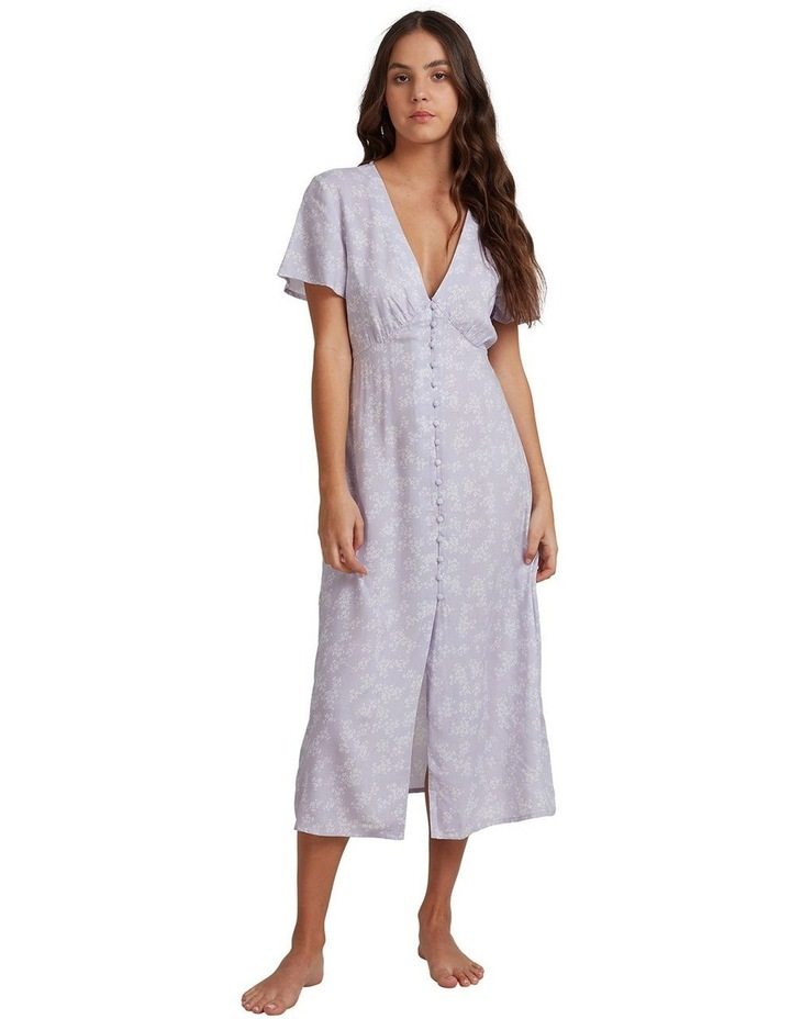 Womens We Are Love Midi Short Sleeve Dress image 1