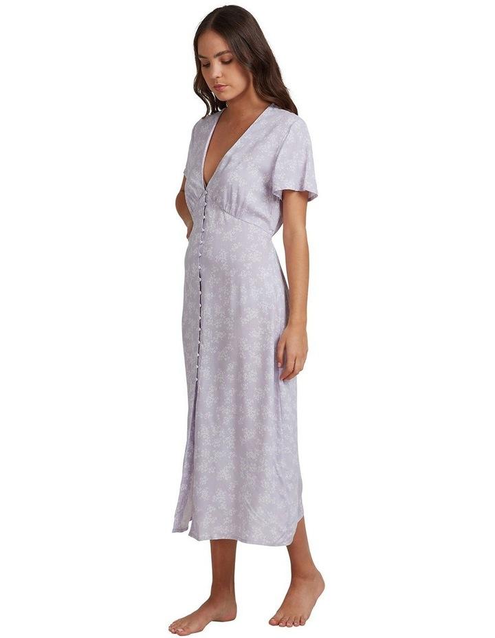Womens We Are Love Midi Short Sleeve Dress image 2