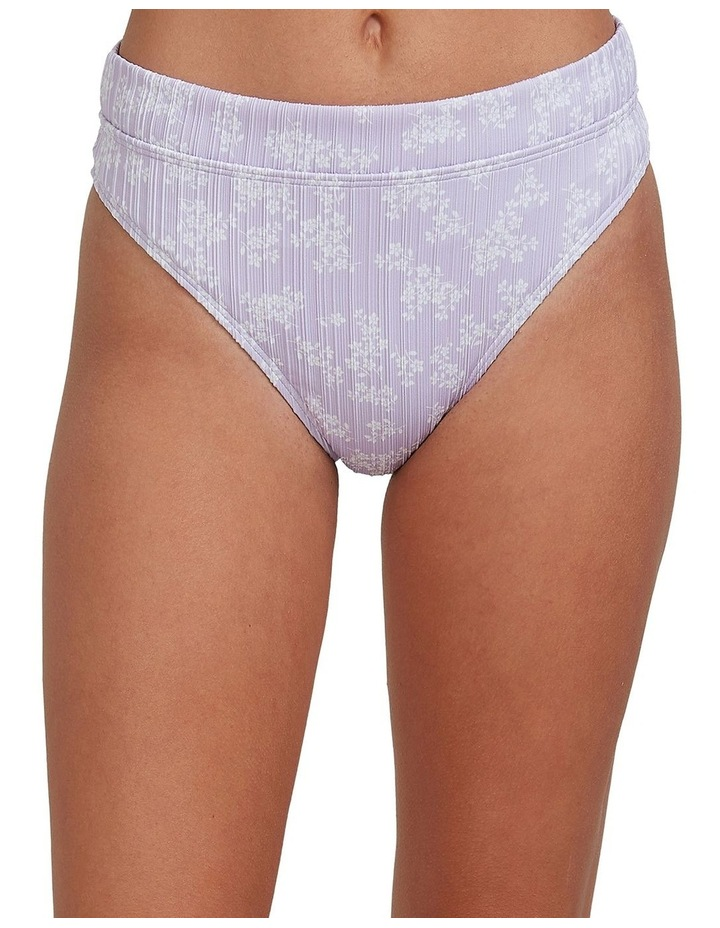 Womens Lilies Surf High Leg Bikini Bottoms image 1