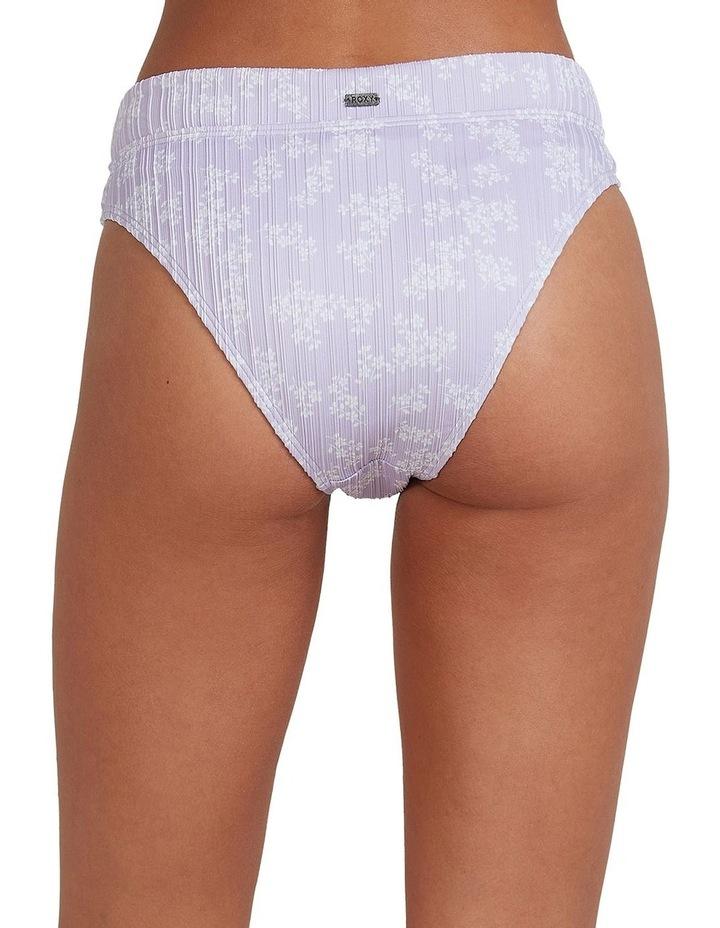 Womens Lilies Surf High Leg Bikini Bottoms image 3