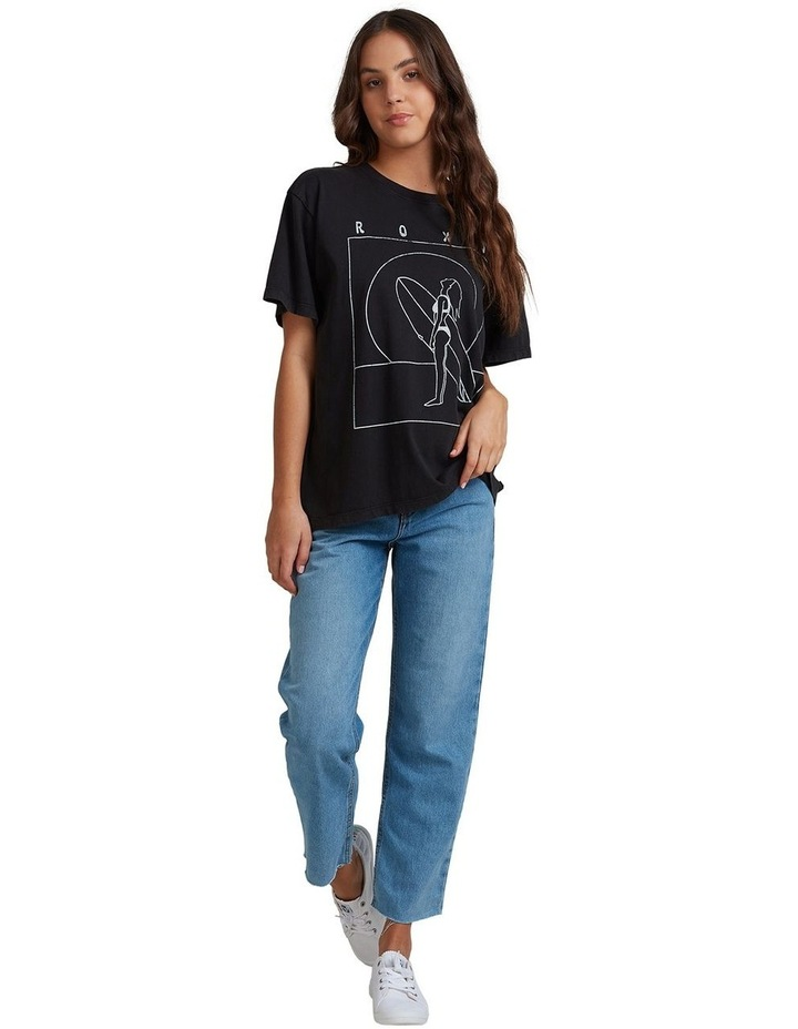 Womens Surf Dreamtime Organic Oversized Boyfriend T Shirt image 4