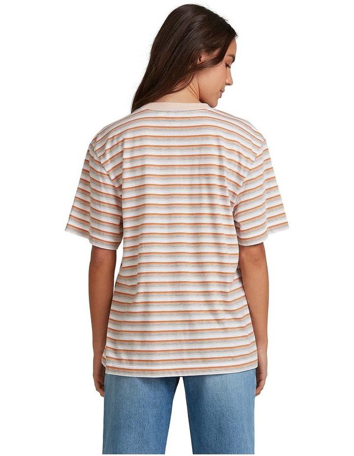 Womens Sun Child Stripe Oversized T-Shirt image 3