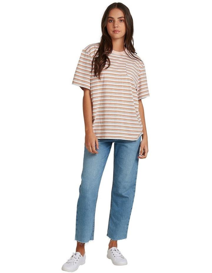 Womens Sun Child Stripe Oversized T-Shirt image 5