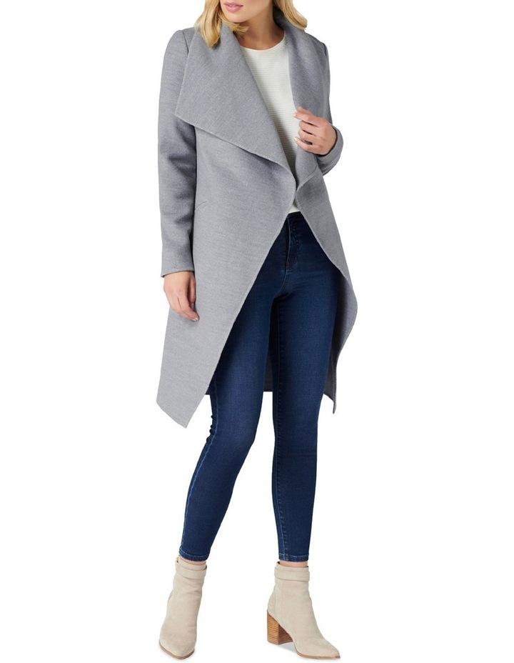 Megan Felled Seam Wrap Coat image 5