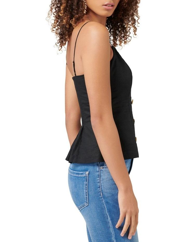 Liza Linen Button Front Cami image 2