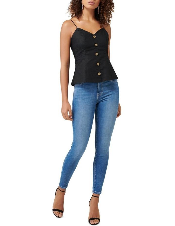 Liza Linen Button Front Cami image 4