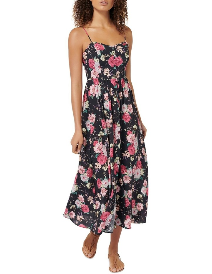 Cameron Floral Midi Dress image 1
