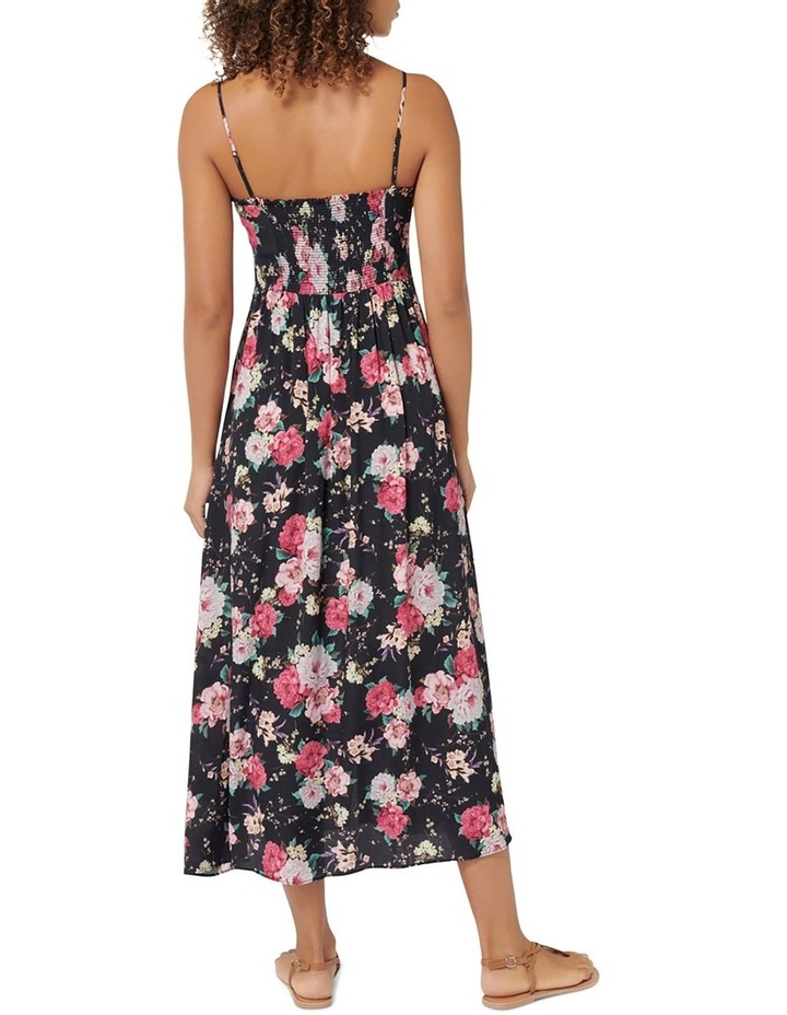 Cameron Floral Midi Dress image 3